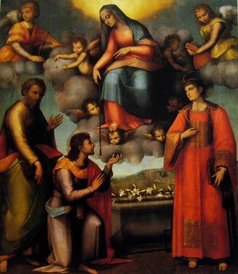 Andrea del Bresciano - Madonna della Cintola (1515-20 ca.) - Firenze, Museo di San Marco.
