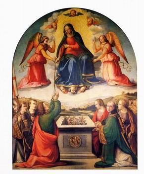 Ridolfo del Ghirlandaio - Madonna della Cintola (1508-09) - Prato, Duomo, cappella della Sacra Cintola