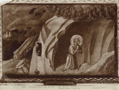 Pannello Chantilly prima del restauro