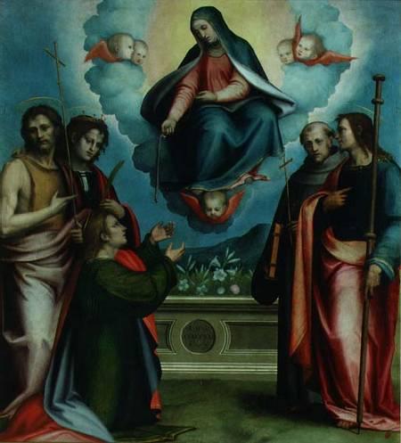 Giovanni Antonio Sogliani - Madonna della Cintola (1521) - Firenze, Museo di San Marco