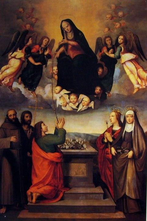 Ridolfo del Ghirlandaio - Madonna della Cintola (1512-14) - Firenze, Museo di San Marco
