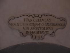Iscrizione Savonarola