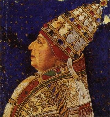 messa di natale di alessandro VI borgia dettaglio codice manoscritto città del vaticano biblioteca apostolica