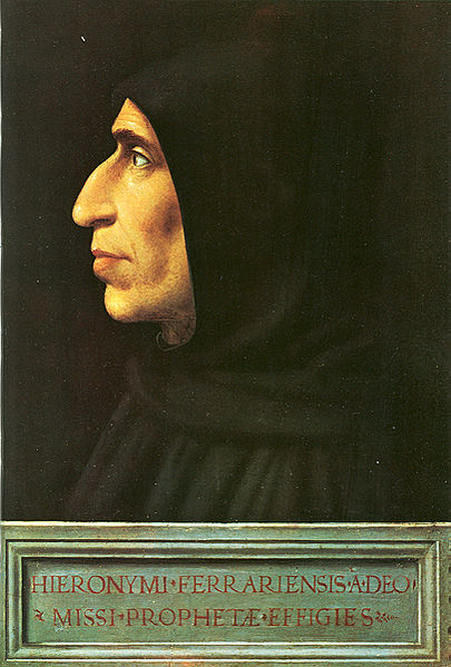Fra Bartolomeo, Ritratto di Girolamo Savonarola, 1498, Museo di San Marco