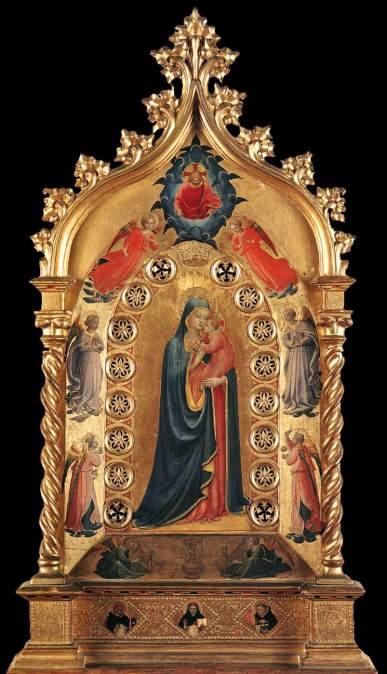 Beato Angelico, Madonna della Stella, Museo di San Marco, Firenze