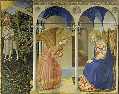 Beato Angelico, Annunciazione di San Domenico, Museo del Prado