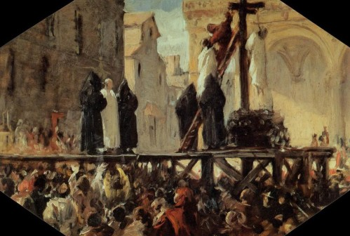 Stefano-Ussi-The-Execution-of-Savonarola-2-