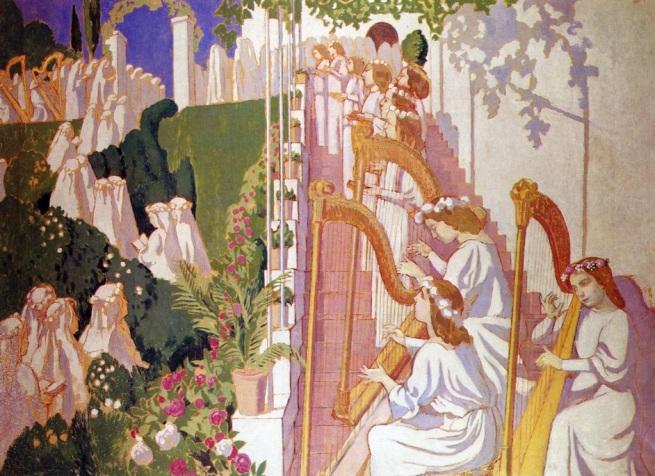 Maurice Denis, Procession de fete Dieu