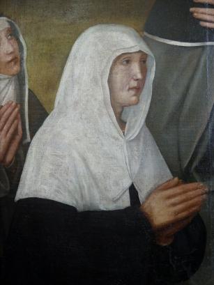 La donatrice del dipinto