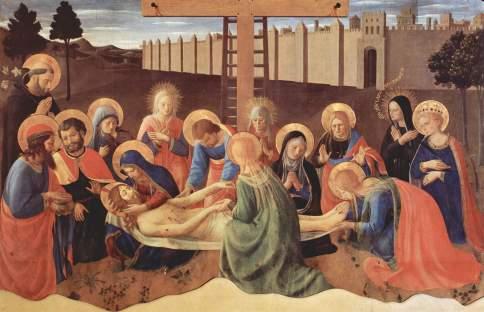 Beato Angelico, Compianto di Santa Maria della Croce al Tempio, Firenze, Museo di San Marco