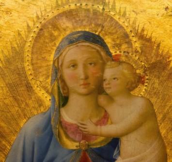 Madonna di Pontassieve - dettaglio, Firenze, Galleria degli Uffizi