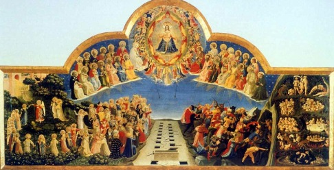 Beato Angelico, Giudizio Finale. Firenze, Museo di San Marco