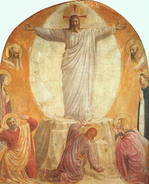 Beato Angelico, Tasfigurazione, Museo di San Marco, Firenze