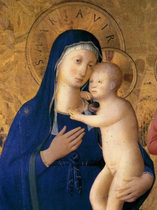 Pala di Bosco ai Frati - dettaglio, Firenze, Museo di San Marco