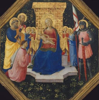 Madonna col Bambino, Angeli, Santi e un donatore, Boston, Museum of Fine Arts