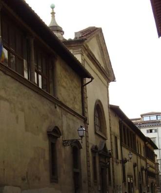 Il monastero di Santa Maria degli Angeli su via degli Alfani
