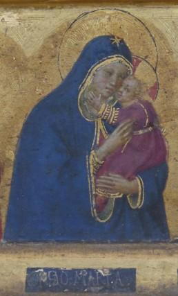 Tabernacolo di Santa Maria Novella con Annunciazione e Adorazione dei Magi - dettaglio, Firenze, Museo di San Marco