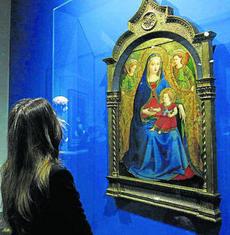 Madonna della melagrana in mostra