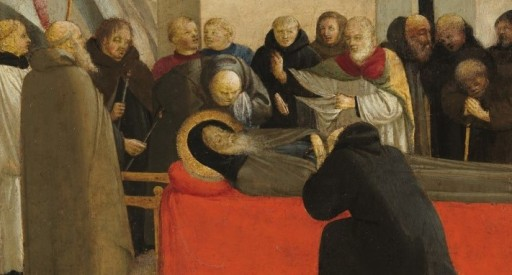 Funerale di Sant'Antonio Abate - dettaglio