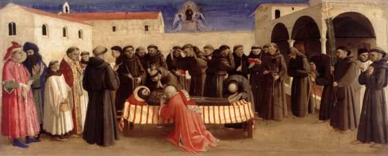 Funerale di San Francesco, Berlino, Staatliche Museen, Gemäldegalerie