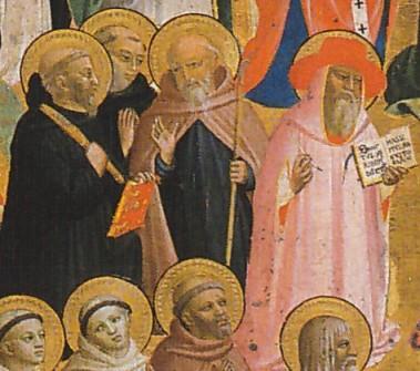 Pala di San Domenico di Fiesole, predella (dettaglio), Londra, National Gallery