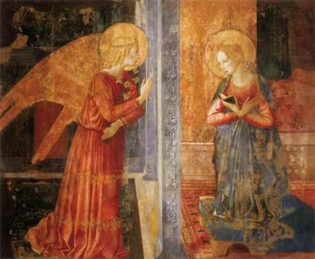Benozzo Gozzoli, Annunciazione di Narni (1449-50)