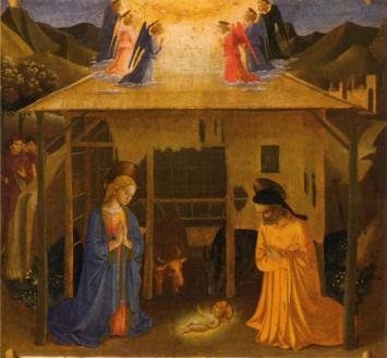 Beato Angelico o Benozzo Gozzoli, Natività, Armadio degli Argenti (1448-52)