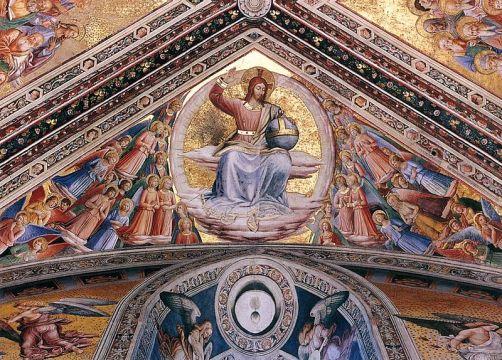 Beato Angelico, Cristo Giudice, Capella di San Brizio, Duomo di Orvieto