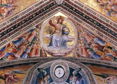 beato-angelico - affreschi-duomo orvieto-cristo giudice