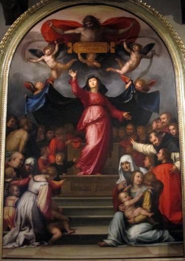 Fra Bartolomeo, Madonna della Misericordia, 1515, Museo Nazionale di Villa Guinigi, Lucca