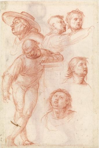 Fra Bartolomeo, Studio di figure per la Madonna della Misericordia, c.a. 1515, Museo Boijmans Van Beuningen (Collection Koenigs)