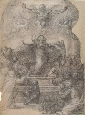 Madonna-Misericordia-disegno