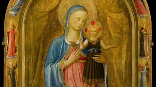 Beato Angelico, Tabernacolo dei Linaioli, Museo di San Marco, Firenze, dettaglio