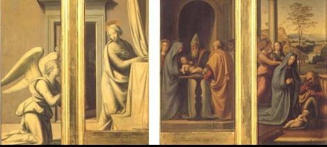 Fra Bartolomeo, Tabernacolo del Pugliese, c.a. 1500, Galleria degli Uffizi