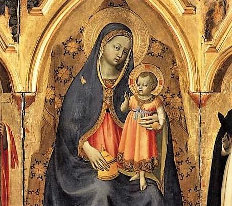 Beato Angelico, Trittico di San Pietro Martire, Museo di San Marco, dettaglio