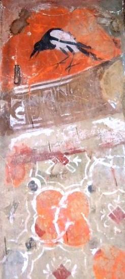Frammento di decorazione parietale proveniente dal Palazzo Arcivescovile, Foresteria, Museo di San Marco