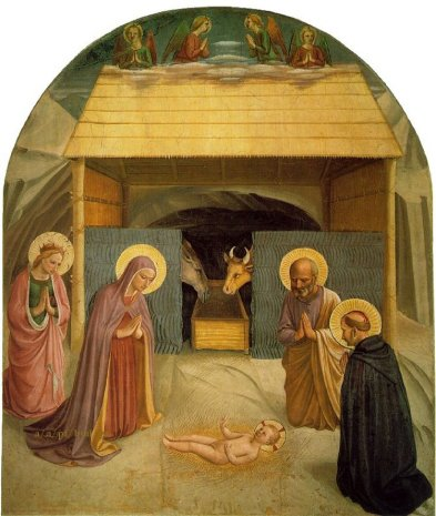 Beato Angelico, Natività, Cella 5, Dormitorio, Museo di San Marco, Firenze