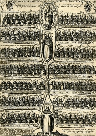Albero dei martiri domenicani, 1610