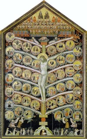 Pacino di Buonaguida, Albero della vita, Galleria dell'Accademia (Firenze)