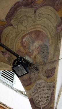 Santa Caterina da Siena, Chiostro di San Domenico (Museo di San Marco, Firenze)