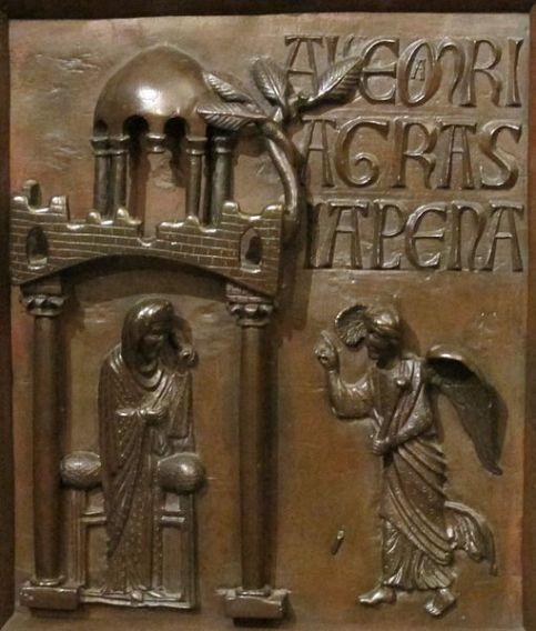 Bonanno Pisano - Annunciazione (1180 ca.) Pisa, Museo dell'Opera del Duomo