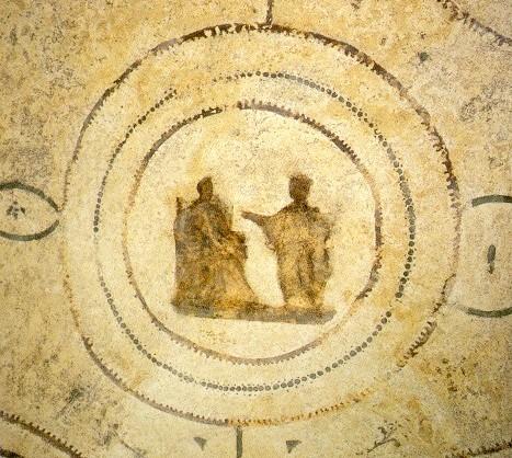 Annunciazione - (III sec.) - Roma, catacombe di Priscilla
