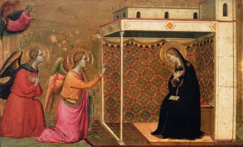 Bernardo Daddi 1335 ca. Parigi Louvre