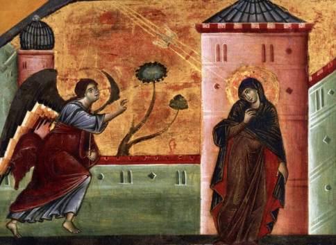 Guido da Siena - Annunciazione (1270 ca.) - Princeton, University Art Museum