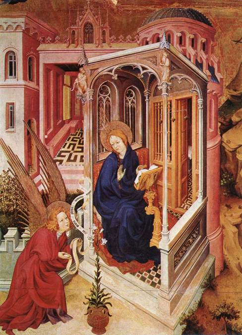 Melchior Broederlam 1393-99 Digione, Musée des Beaux-Arts