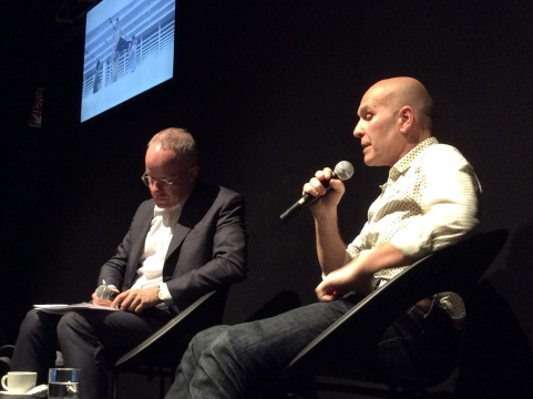 Incontro tra Hans Ulrich Obrist e Virgilio Sieni al MiArt, Milano, 9 aprile 2016