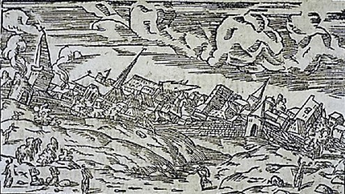 terremoto-basilea-1356-incisione-1544