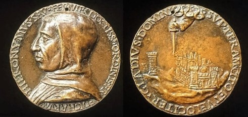 savonarola-medaglie