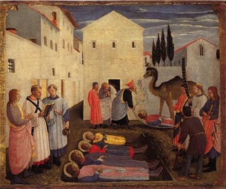 beato-angelico-sepoltura-cosma-e-damiano-pala-san-marco