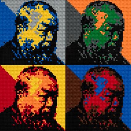 Ai Weiwei: Autoritratto in LEGO per la Galleria degli Uffizi (2016)